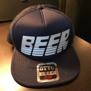"""Brand new """"Beer"""" Snapback Trucker Hat"""